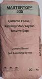 Çimento Esaslı Kendiliğinden Yayılan Tesviye Şapı 20 kg.