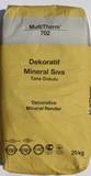 Dekoratif Mineral Sıva (Tane Dokulu) 20 kg.